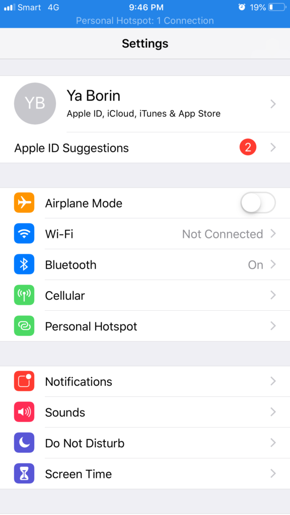 step 10: How to connect to your another iPhone's Instant Hotspot without password