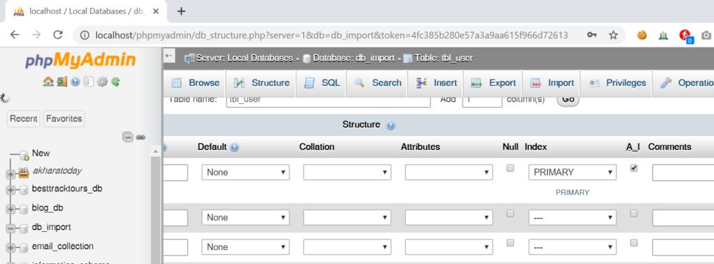step 5: Generate SQL insert statement in excel worksheet to run in MySql