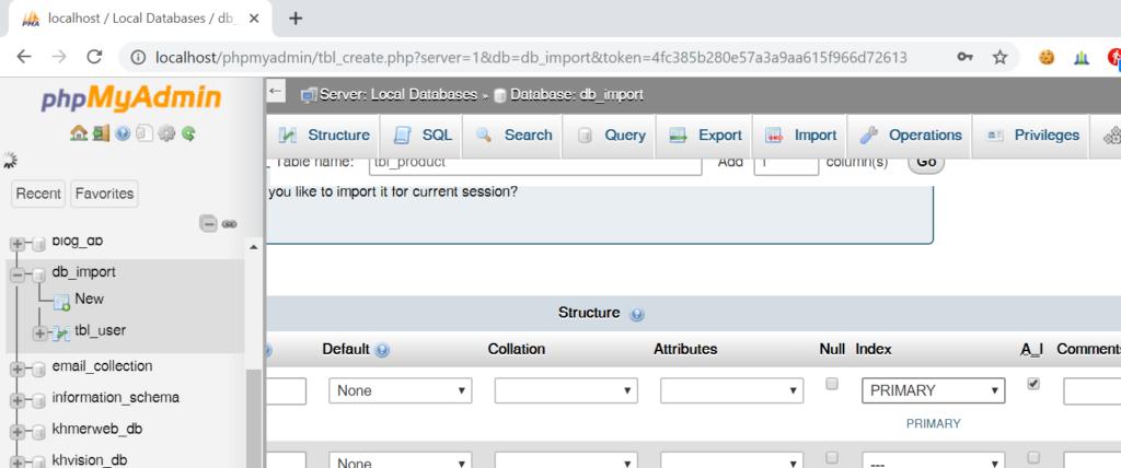 step 7: Generate SQL insert statement in excel worksheet to run in MySql