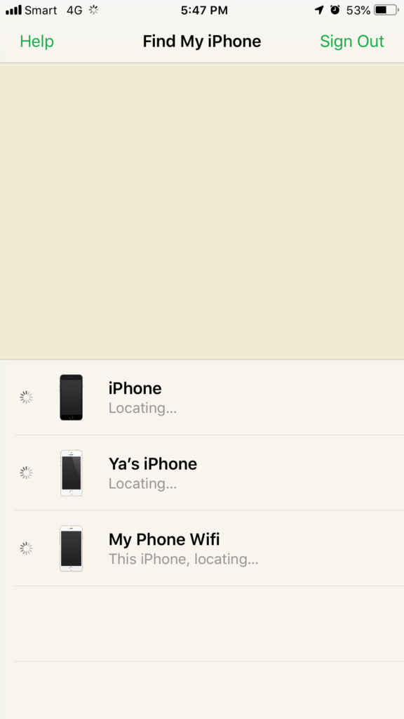 step 3 How to use Find My iPhone to find lost or stolen iPhone or iPad