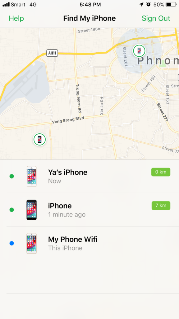 step 4 How to use Find My iPhone to find lost or stolen iPhone or iPad