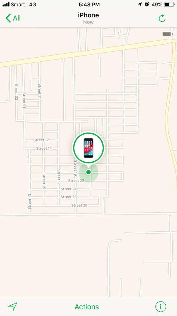 step 6 How to use Find My iPhone to find lost or stolen iPhone or iPad