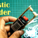 How to Make Plastic Binder or Plastic Closer Tool from Homemade Materials